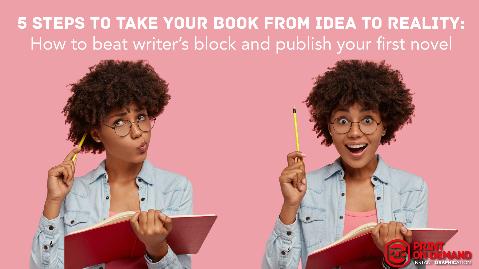 5 Steps to take your book from idea to reality